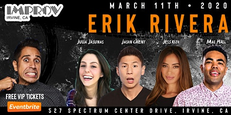 FREE VIP TICKETS - Irvine Improv - 03/11 - Stand Up Comedy Show tickets