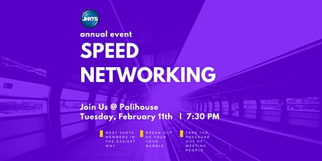 JHRTS Speed Networking Mixer tickets