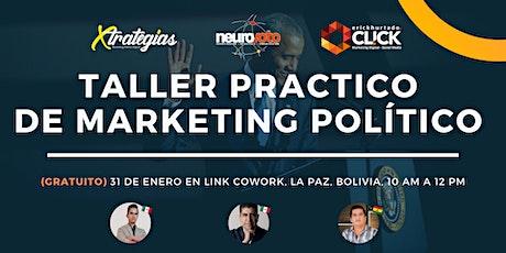 Taller Practico de Marketing Político entradas