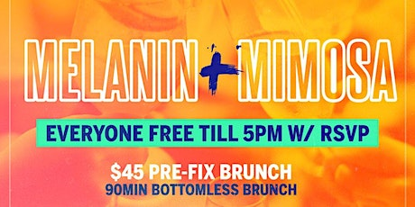 Melanin & Mimosas Brunch & Day Party tickets