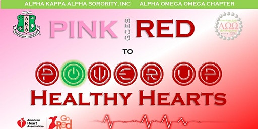 Pink Goes Red  to Power Up Heart Health