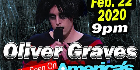 "Oliver Graves ""The Goth Comic"" at Vince's tickets"