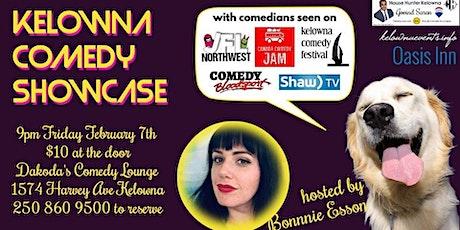 A Kelowna Comedy Showcase tickets