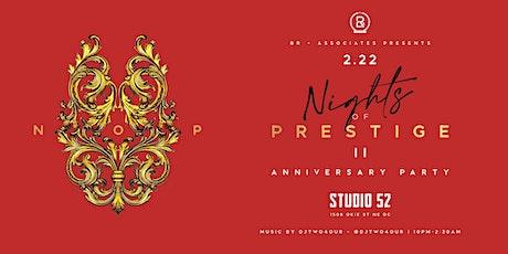 BR & ASSOCIATES PRESENTS NIGHTS OF PRESTIGE (THE A tickets