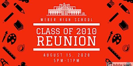 Weber High Class of 2010 Reunion tickets