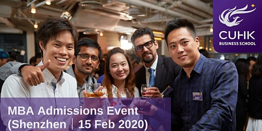 CUHK MBA Admissions Event in Shenzhen
