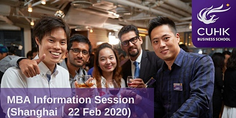 CUHK MBA Information Session in Shanghai tickets
