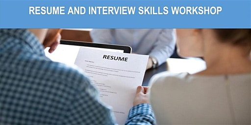 Resume and Interview Workshop -  30th January