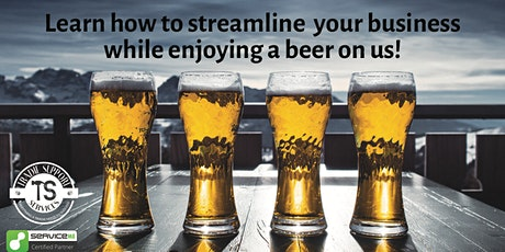 FREE Beer & Business Session (Featuring ServiceM8) tickets