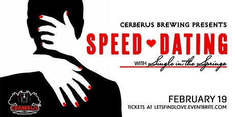 Speed Dating at Cerberus Brewing tickets