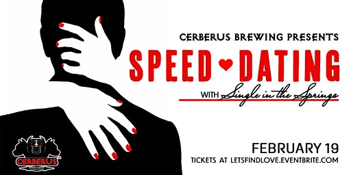 Speed Dating at Cerberus Brewing