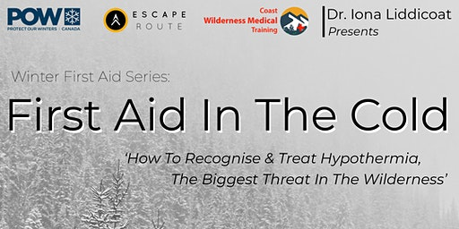 First Aid in the Cold