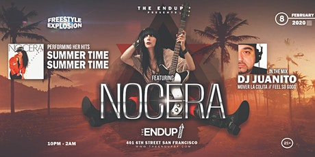 The EndUp Presents: Nocera featuring her hits-Summertime, Summertime & DJ Juanito In the Mix  (Mover La Colita//Feel So Good) tickets