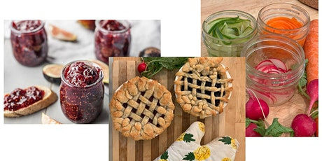 Fruit Preserves WITHOUT Sugar, make PIES from scratch & 3 veggie pickles tickets