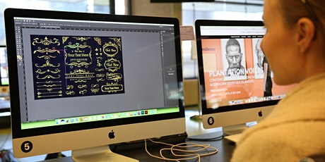 Professional vector graphics: intro to Adobe Illustrator tickets