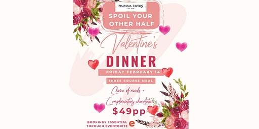 Valentine's Day 3 Course Meal @ Pimpama Tavern!