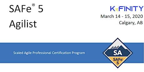 Leading SAFe® 5.0 - SAFe Agilist - Calgary tickets