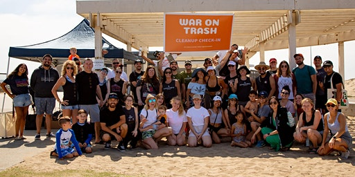 'War on Trash' Beach Clean Up