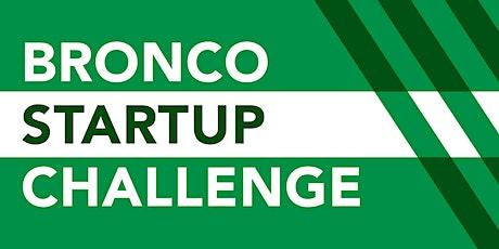 Bronco Startup Challenge Spring Mixer tickets