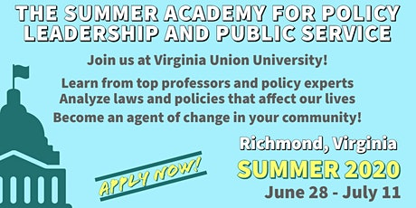 Policy Pathways-The Summer Academy for Policy Leadership and Public Service tickets