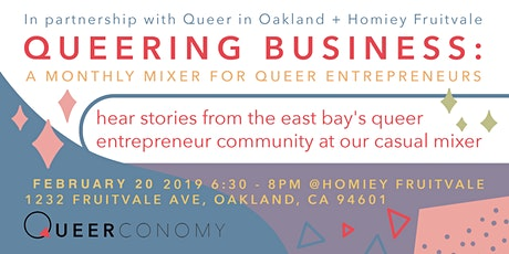 Queering Business Mixer: Communicating Queerness tickets
