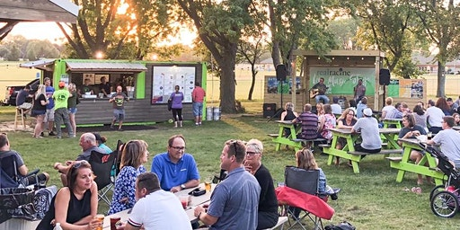 Opening Weekend 2020 of the Franksville Craft Beer Garden