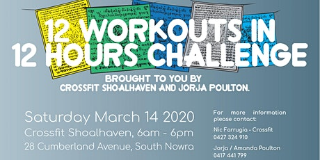 12 Workouts in 12 Hours Challenge tickets