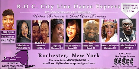R.O.C. City Line Dance Express  -  12th Anniversary Celebration tickets