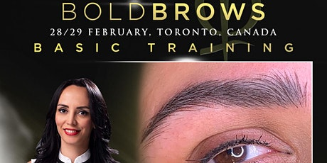 Bold Brows Toronto, Canada February 2020 tickets