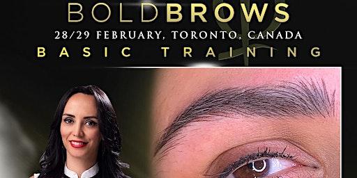 Bold Brows Toronto, Canada February 2020