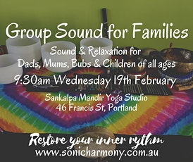 Group Sound for Families ~ Portland tickets