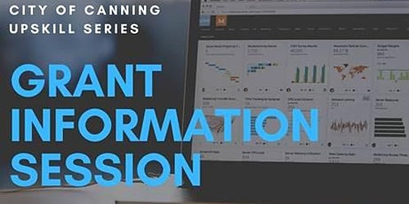 City of Canning Upskill Series: Grant Information Session tickets