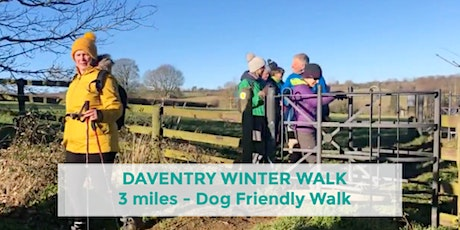 DAVENTRY COUNTRY PARK WINTER WALK | 3 MILES | EASY | NORTHANTS tickets