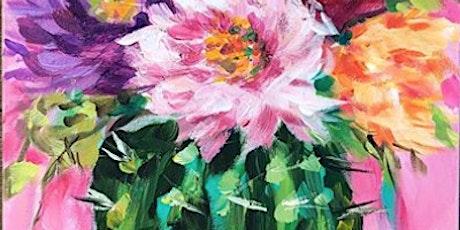 Blooming Cactus - Social Art Class tickets