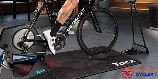 Rolling Demo - Tacx Smart Trainer & Garmin Night