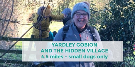 YARDLEY GOBION AND THE HIDDEN VILLAGE | 4.5 MILES | MODERATE | NORTHANTS tickets