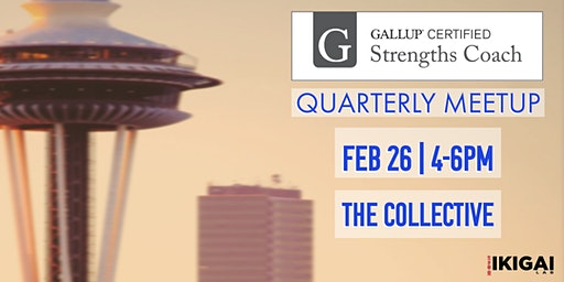 Gallup-Certified Strengths Coach  Quarterly Meetup + Happy Hour