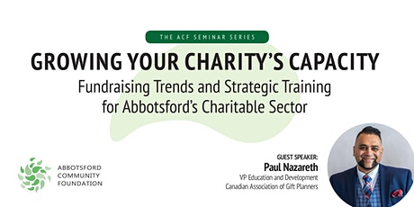 Growing your Charity's Capacity with Paul Nazareth tickets