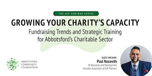 Growing your Charity's Capacity with Paul Nazareth