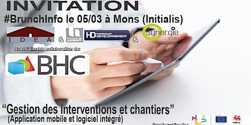 """BrunchInfo du 05/03  : """"Gestion des interventions et chantiers"""""""