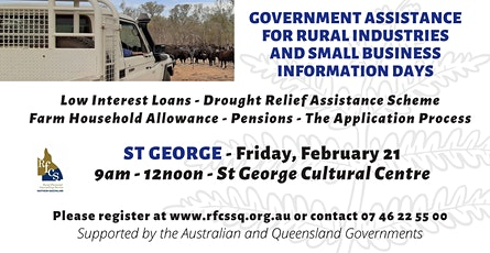 St George Government Assistance Info Day tickets