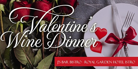 Valentine's Wine Dinner @ Royal Garden Hotel tickets