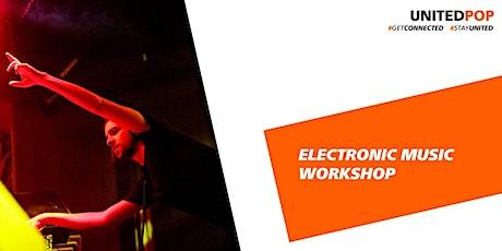 Open Day Workshop: Ableton Live delavnica – Live performans tickets