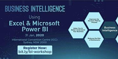 Business Intelligence using Excel & Microsoft Power BI Introduction, Sydney tickets