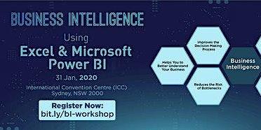 Business Intelligence using Excel & Microsoft Power BI Introduction, Sydney