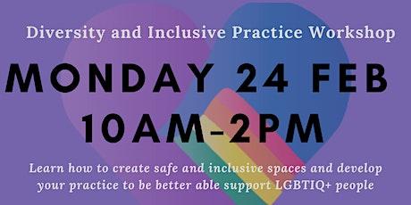 Diversity and Inclusive Practice Workshop tickets