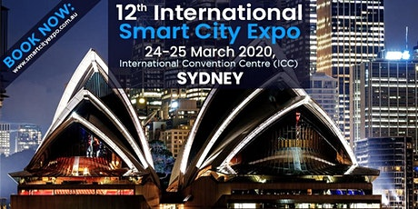 12th International Smart City Expo 2020,  ICC Sydney tickets