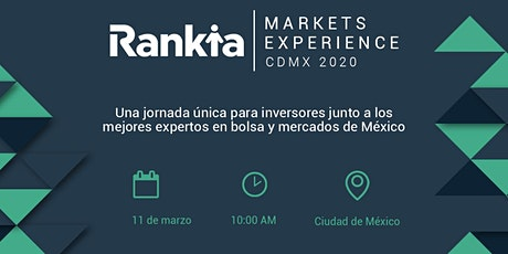 Rankia Markets Experience & Premios Rankia 2020 tickets