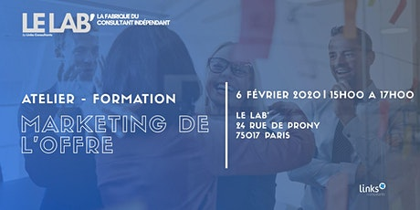 Atelier Formation #Paris | Marketing de l'offre billets