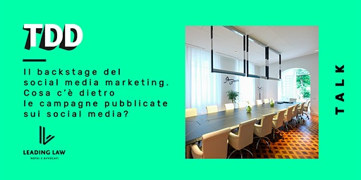 Il backstage del social media marketing